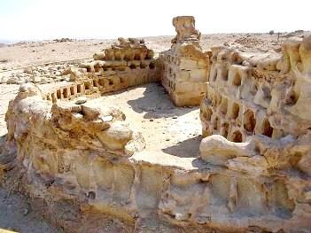 Pigeon coops at King Herod's fortress of Masada