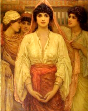Marriage in the Bible: Painting, The Bride, Frederick Goodall