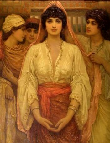 Virgins, maidens. The Bride, by Frederick Goodall