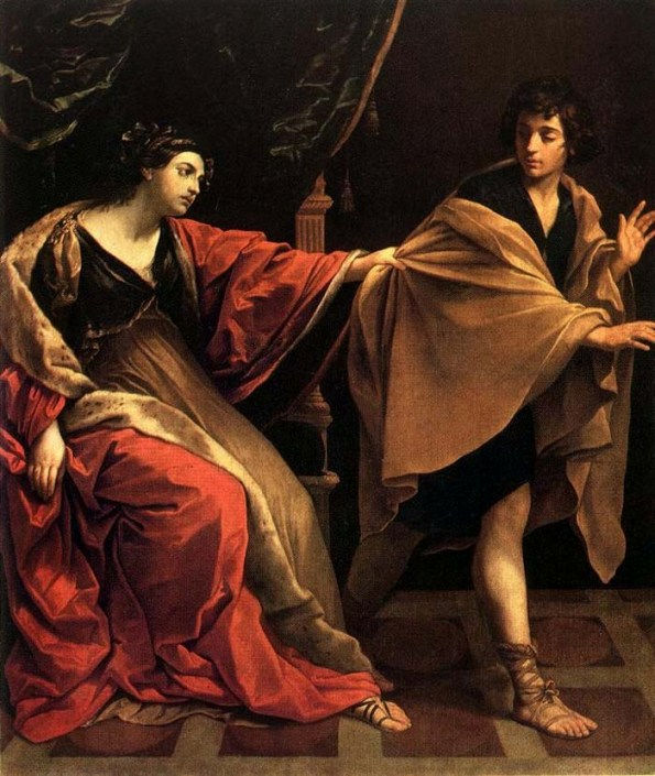 Bible Paintings: Guido Reni, Joseph and Potiphar's Wife