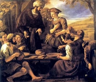 Family: Boaz and Ruth, Jan Victors