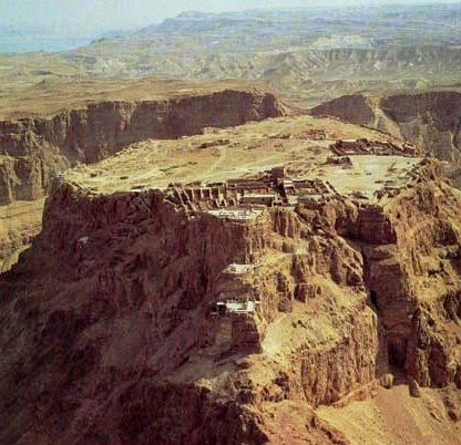 Masada was entirely cut off from the outside world