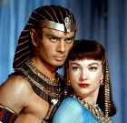Scene from the movie 'The Ten Commandments'