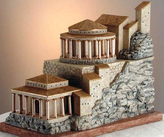 Masada reconstruction: what the Northern palace may have looked like