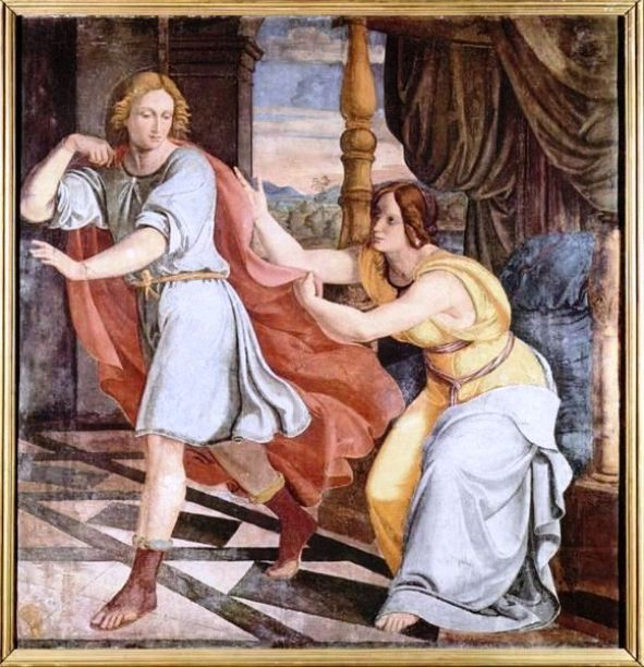Joseph Potiphar's Wife Paintings: Philipp Veit, Joseph and the Wife of Potiphar