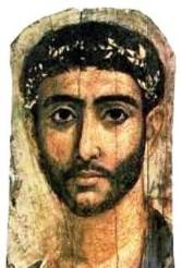 Solomon's palace in Jerusalem: Fayum image of a young prince