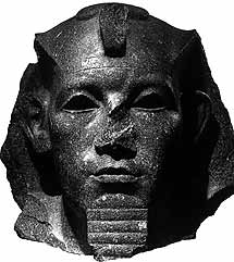 Statue of a high-ranking Egyptian, probably Amenemhet III