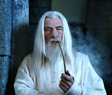 Worst Sins in the Bible: magic and sorcery. Gandalf from the Harry Potter movies