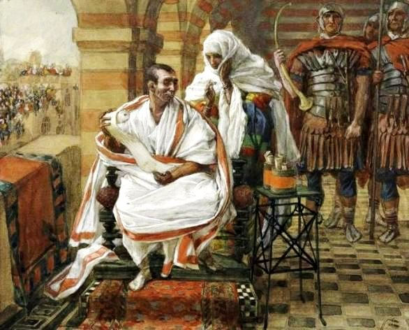 The Message of Pilate's Wife, James Tissot