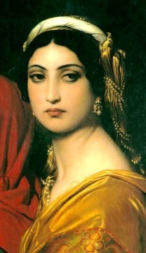 Bad Bible Women: Herodias, painting by Delaroche