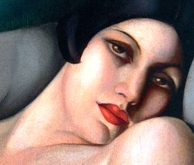 Bad Bible Women: Maacah. Painting by de Lempicka