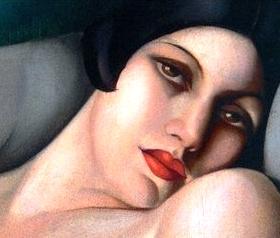 Bad Bible Women: Maacah. Painting by de Lempicka