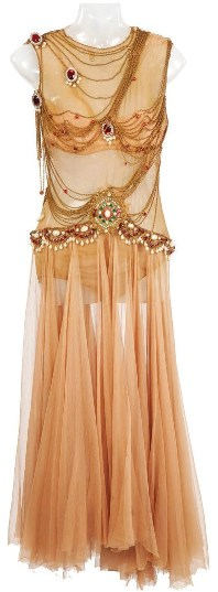 Dress worn by Rita Hayworth for the Dance of the Seven Veils