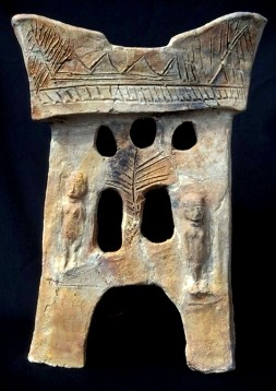 Ceramic incense altar, 10th century BC