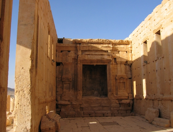 The Temple of Bel/Baal at Palmyra