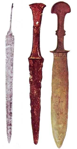 Ancient swords