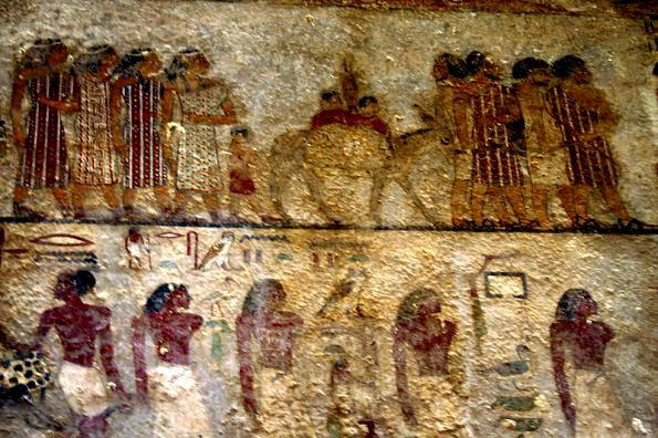 Beni-Hassan mural of Asiatic travellers