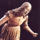 Mary Magdalene - lamentation for the dead Christ