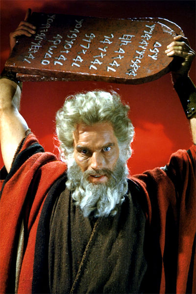 Moses & the Tablets of the Law