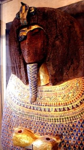 The desecrated sarcophagus of Akenaten, Cairo Museum