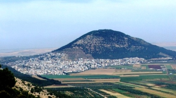Scenic view of Mount Tabor