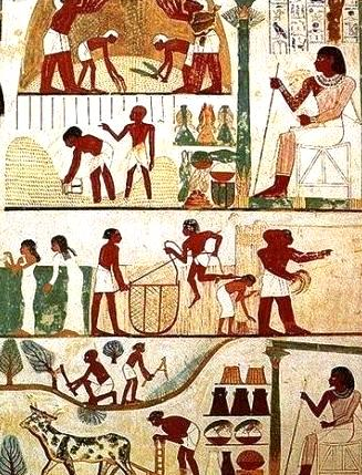 Image result for sowing in ancient times